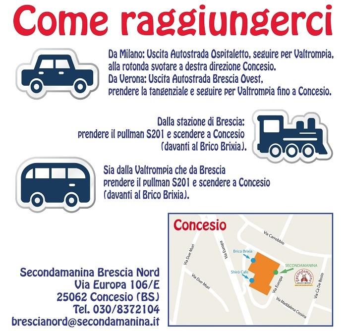 COME FUNZIONA SECONDAMANINA BRESCIA NORD  aa3325147f6
